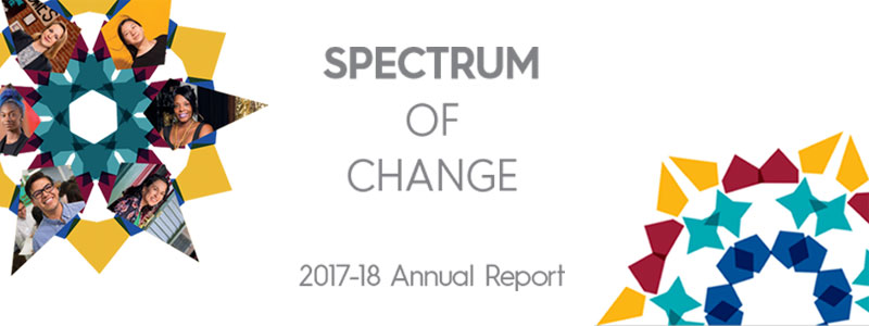 CCF's 2017-18 Annual Report: Spectrum of Change