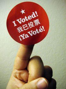 """""""I Voted"""" Photo by Anita Hart - flic.kr/p/8QzYK6"""